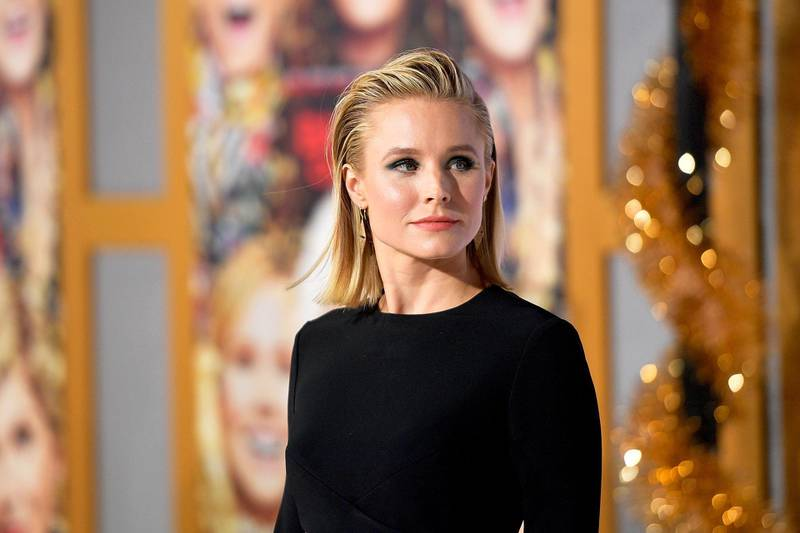 """WESTWOOD, CA - OCTOBER 30:   Kristen Bell attends the premiere of STX Entertainment's """"A Bad Moms Christmas"""" at Regency Village Theatre on October 30, 2017 in Westwood, California.  (Photo by Matt Winkelmeyer/Getty Images)"""