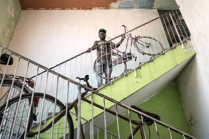 """In Turin, hundreds of marginalised migrants and refugees live in the four occupied buildings of """"Ex-MOI"""" (former 2006 Olympic Village), facing harsh conditions: overcrowding, no heating, and frequent disruptions in water and electricity supplies. Since 2016, MSF has run a project, in partnership with the local health authorities, aiming at promoting residents' access to local health services, providing information on regulations and administrative procedures through on-site desk and outreach activities; accompanying vulnerable people to the health facilities; carrying out prevention and basic health promotion activities. Some of the MOI residents have been trained by MSF as intercultural mediators and have been working in the local health administrative office.  So far MSF has assisted almost 500 people, mainly from sub-Saharan Africa (Mali, Nigeria, Ghana) and Somalia."""