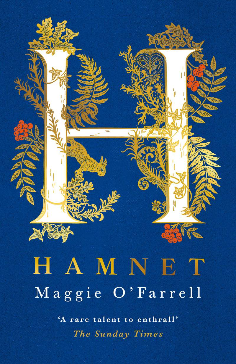 HAMNET by Maggie O'Farrell published by Tinder Press. Courtesy Hachette UK
