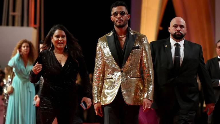 An image that illustrates this article Arab stars shine on El Gouna Film Festival red carpet
