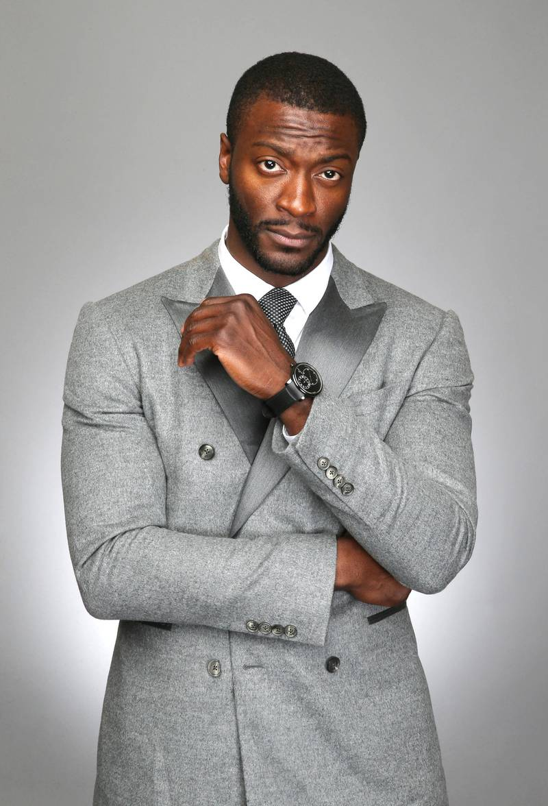 BEVERLY HILLS, CA - FEBRUARY 17:  Actor Aldis Hodge poses for a portrait for BET's 2017 American Black Film Festival Honors Awards at The Beverly Hilton Hotel on February 17, 2017 in Beverly Hills, California.  (Photo by J. Countess/WireImage)