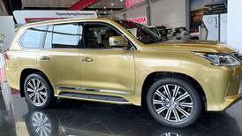 Midas touch: Lexus launches limited-edition golden LX570 in the UAE