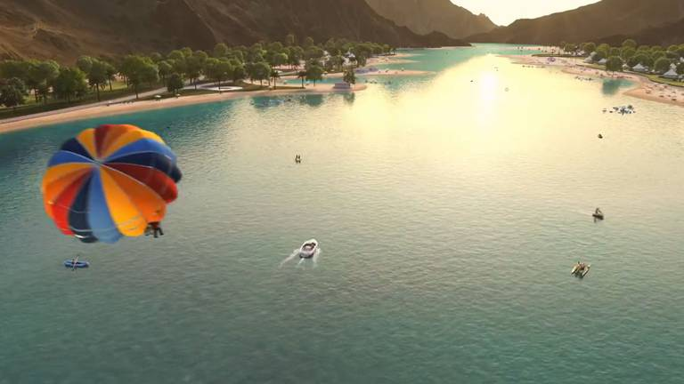 An image that illustrates this article Dubai Ruler unveils tourism plan for Hatta, including beach and mountain railway