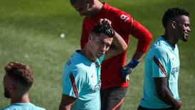 Cristiano Ronaldo trains with Portugal after sealing Manchester United move - in pictures