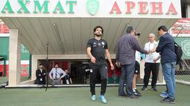 Mohamed Salah and Egypt train ahead of Russia game - in pictures