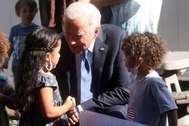 Biden pushes childcare investing in stalled spending bill