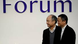 Alibaba's Jack Ma leaves SoftBank as company posts $17.7bn loss and plans share buyback