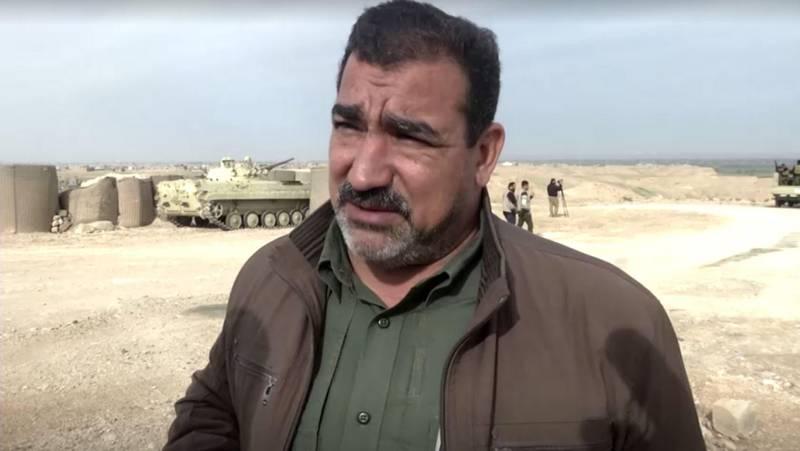 Senior militia commander Qassem Musleh. Reuters