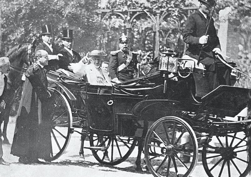 Riding in an open carriage, Pope Leo XIII served from 1878 to 1903. He was known to have a major influence on a number of excellent men in getting them to join the college of cardinals. (Photo by © CORBIS/Corbis via Getty Images)