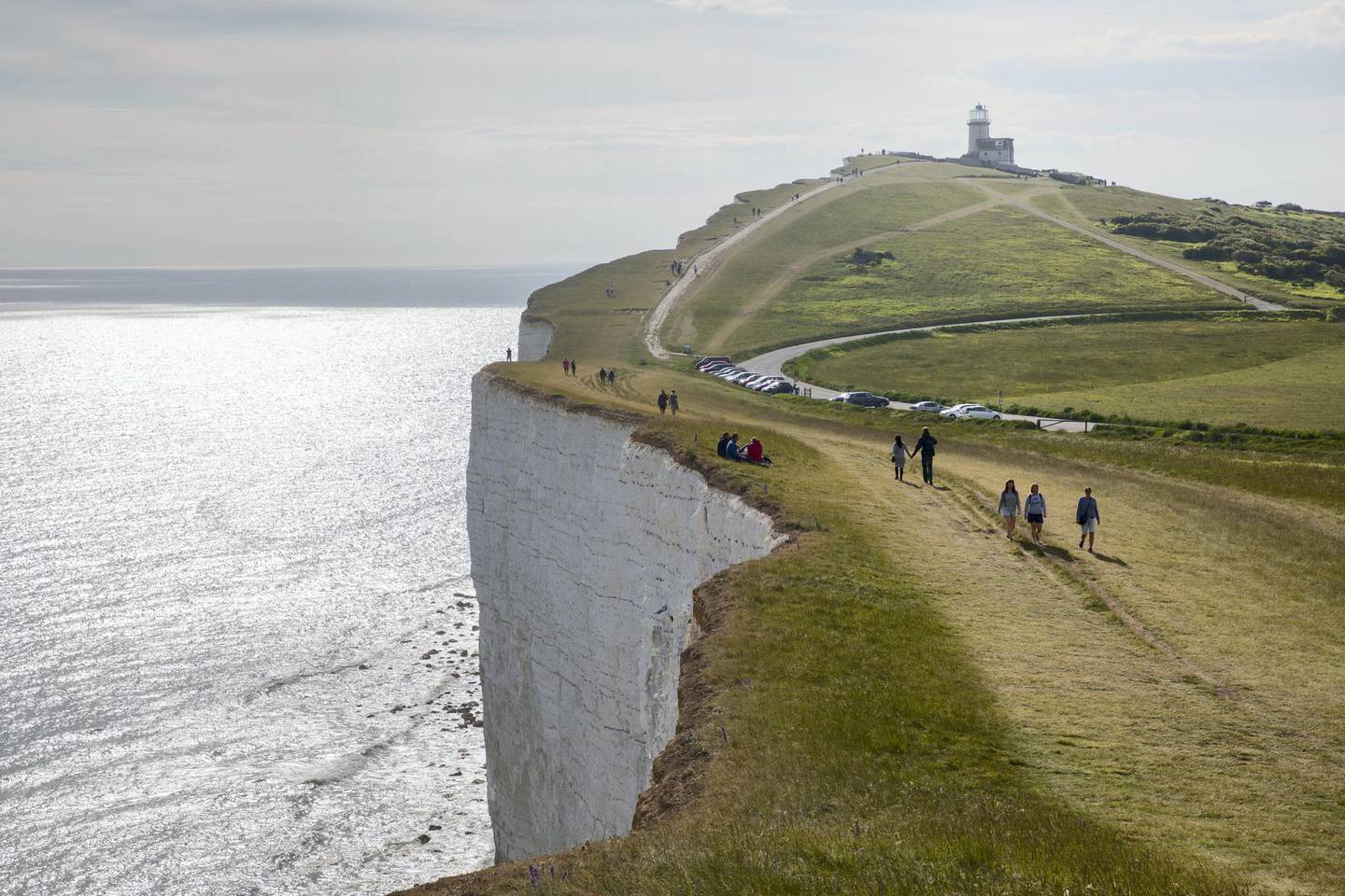 SEAFORD, ENGLAND - MAY 25 : Seven sisters cliffs on May 25, 2019 in Seaford, England. (Photo by Athanasios Gioumpasis/Getty Images)