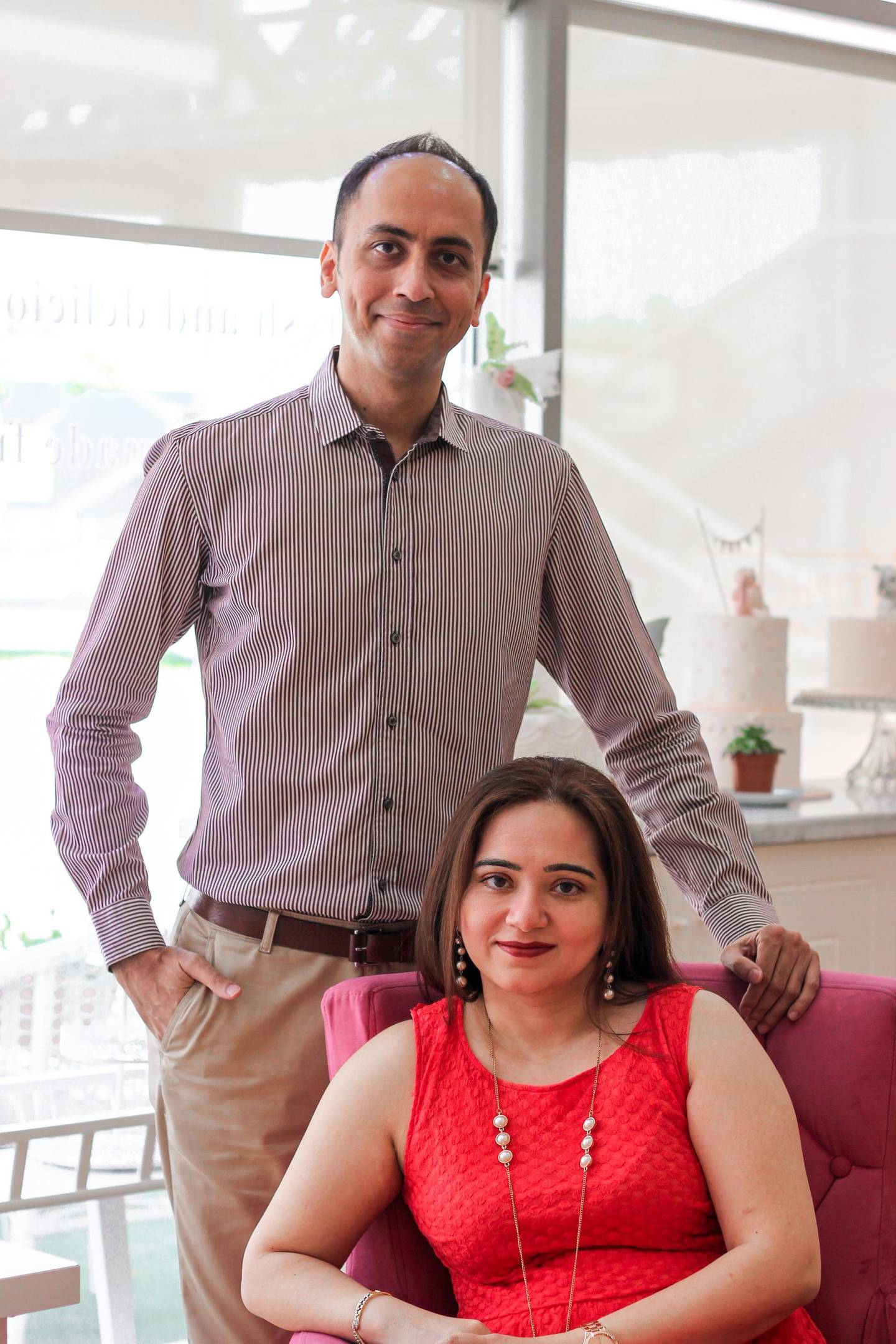 Sandeep and Latika Chawla are married business owners for nine years, since launching Giftbag.ae to fill a gap in the online gift delivery sector. Courtesy Sandeep and Latika Chawla