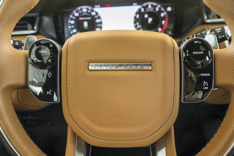 Abu Dhabi, UAE, April 2, 2018.   Range Rover Velar .Victor Besa / The NationalMotoringReporter:  Adam Workman