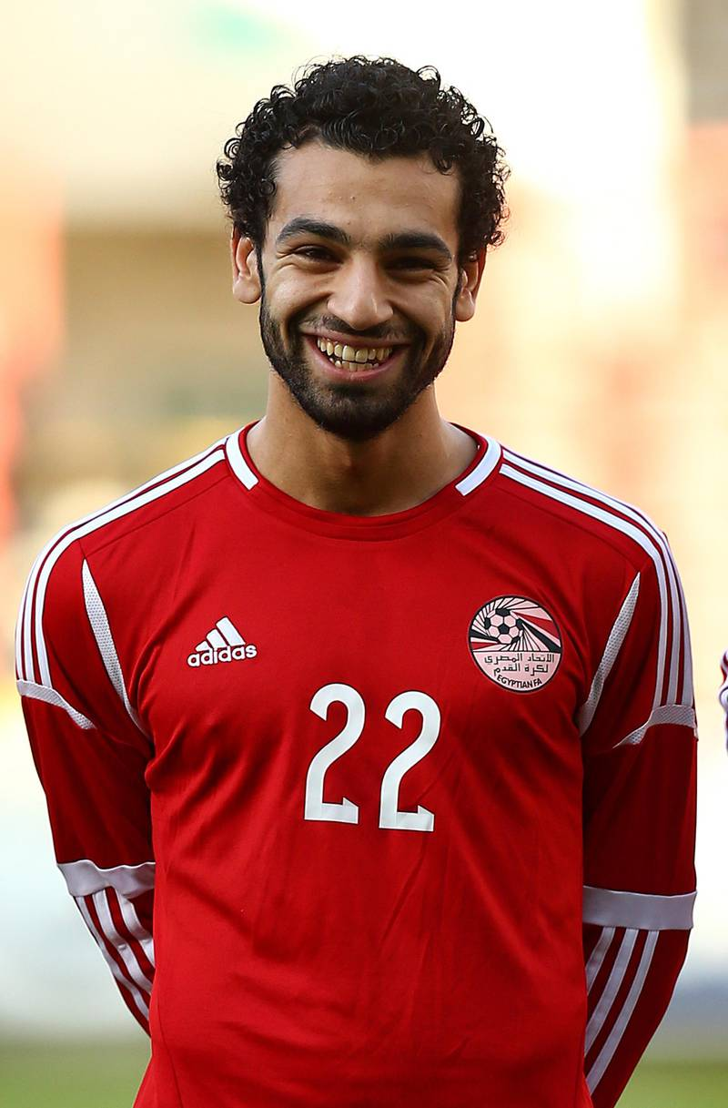 LONDON, ENGLAND - JUNE 04: Mohamed Salah of Egypt during the International Friendly match between Jamacia and Egypt at The Matchroom Stadium on June 04, 2014 in London, England. (Photo by Charlie Crowhurst/Getty Images)