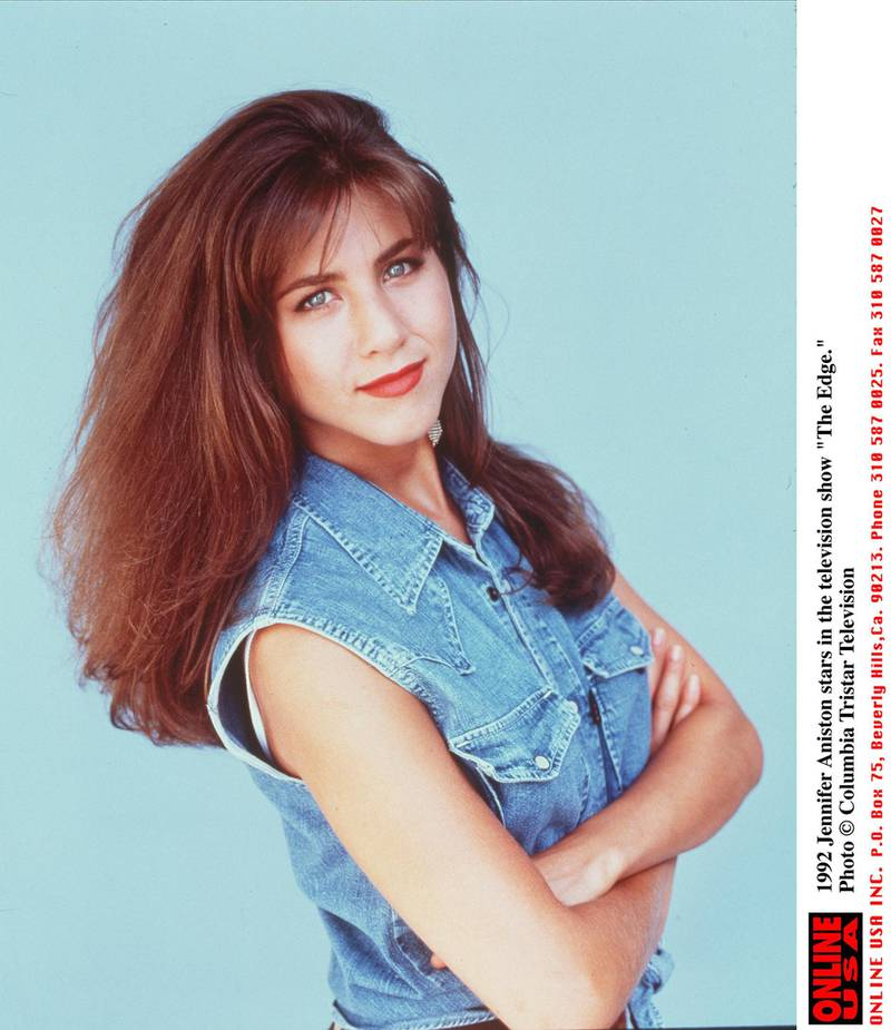 """1992 Jennifer Aniston Stars In The Television Show """"The Edge."""" (Photo By Getty Images)"""