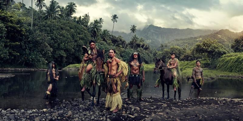 XXVI 16 - Vaioa River, Atuona, Hiva Oa, Marquesas Islands, 2016. Courtesy Jimmy Nelson