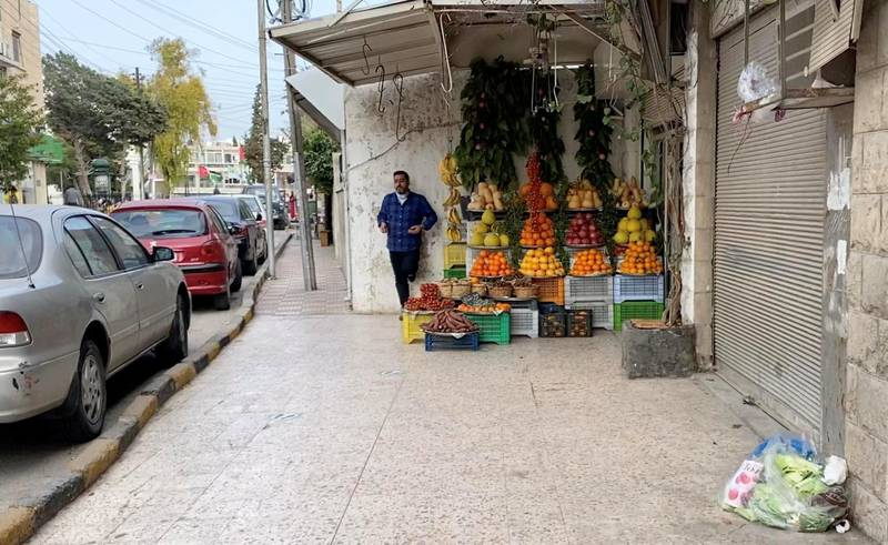 Small businesses have felt the effects of Jordan's new 7pm curfew. Amy McConaghy / The National