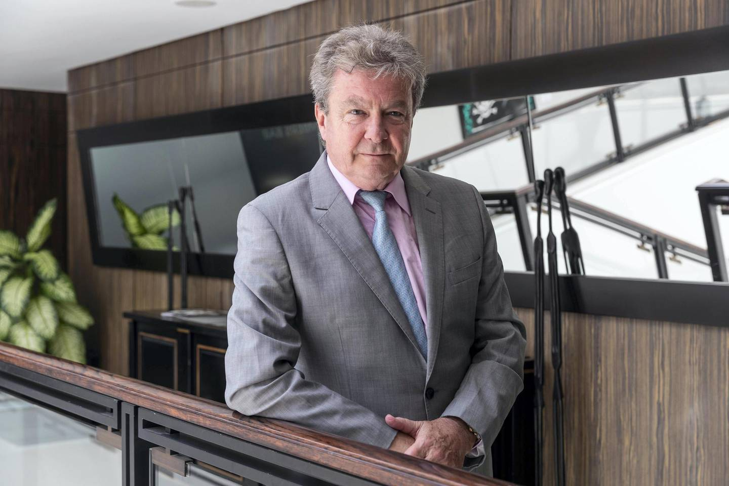 DUBAI, UNITED ARAB EMIRATES. 09 MAY 2019. James Berry, Managing Partner of James Berry & Associates on how to give charity legally in the UAE. (Photo: Antonie Robertson/The National) Journalist: Nada al Sawy. Section: Business.