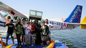 Dubai seaplane to support breast cancer patients