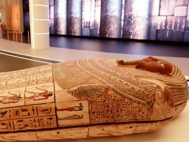 Egyptian coffin - in pictures