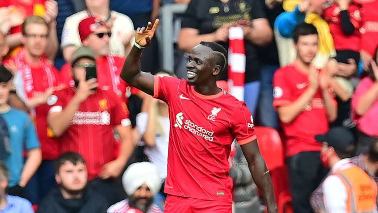 An image that illustrates this article 'Exceptional' Mane reaches 100 goals to lead Liverpool to win over Palace
