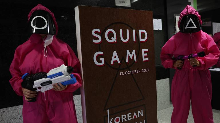 An image that illustrates this article Squid Game could generate $900m in value for Netflix