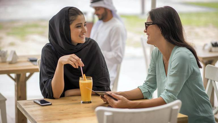 An image that illustrates this article When and when not to use the term habibi: 15 waysto greet people in the UAE