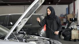 Sharjah's first female Emirati car mechanic on how she's changing the car repair business