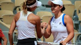 French Open: Injured Ashleigh Barty makes 'heartbreaking' second round exit