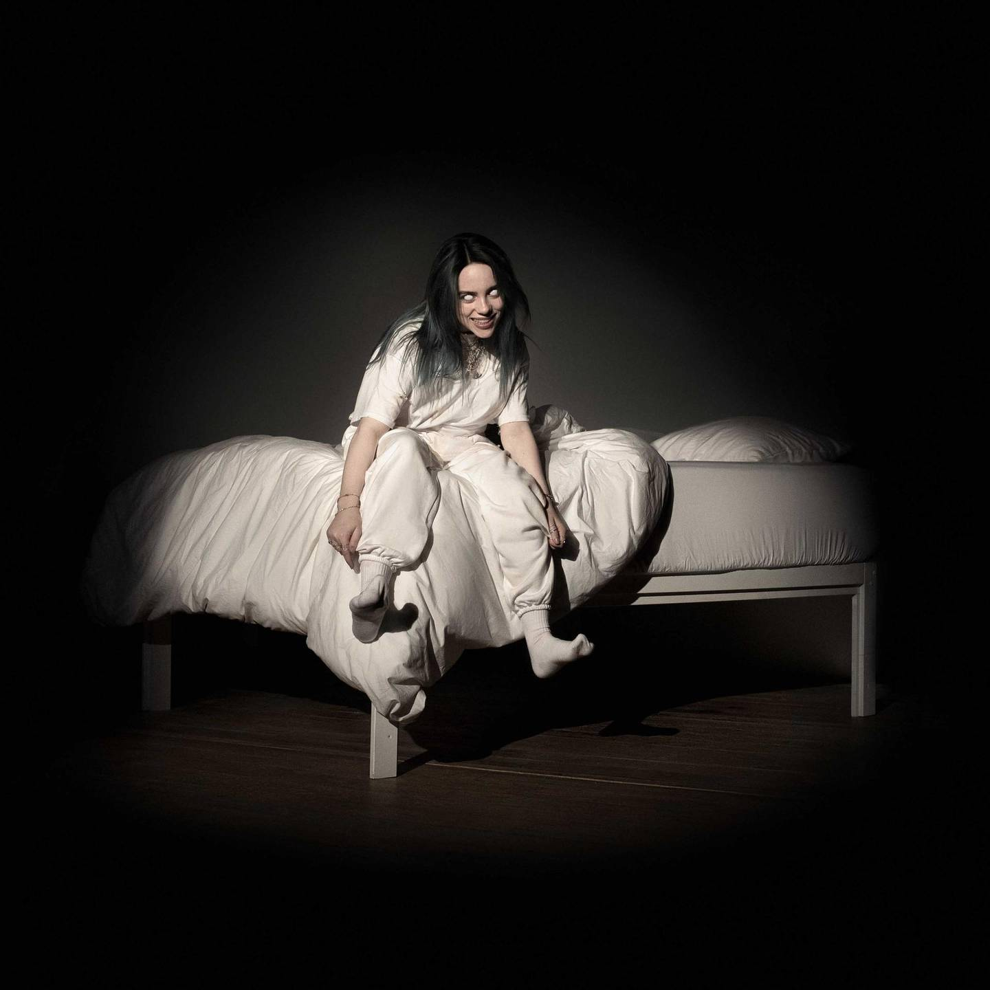 WHEN WE ALL FALL ASLEEP, WHERE DO WE GO? by Billie Eilish. Courtesy DARKROOM/INTERSCOPE RECORDS