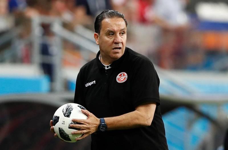 Soccer Football - World Cup - Group G - Panama vs Tunisia - Mordovia Arena, Saransk, Russia - June 28, 2018   Tunisia coach Nabil Maaloul    REUTERS/Murad Sezer