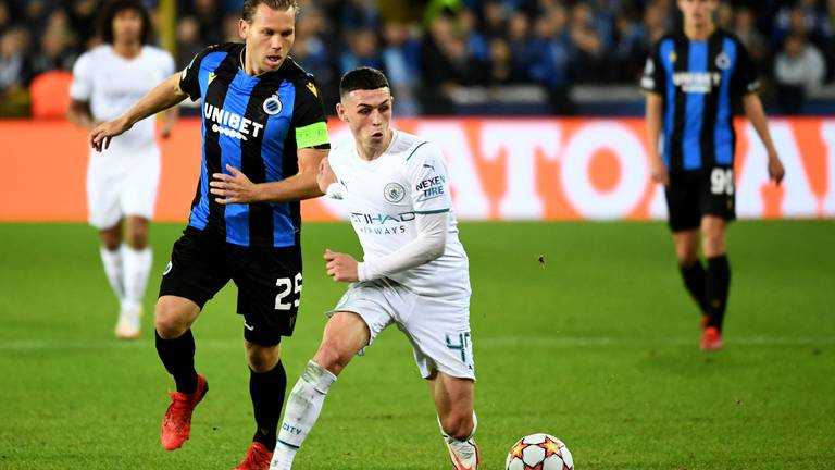 An image that illustrates this article Club Brugge v Man City ratings: Hendry 6, Mignolet 5; Foden 9, Palmer 7