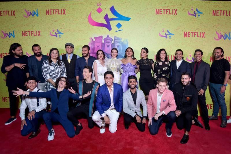 "AMMAN, JORDAN - JUNE 12: xxx attends World Premiere of Netflix Original series ""Jinn"" at Bisharat Golf Club on June 12, 2019 in Amman, Jordan. (Photo by Juan Naharro Gimenez/Getty Images for Netflix)"