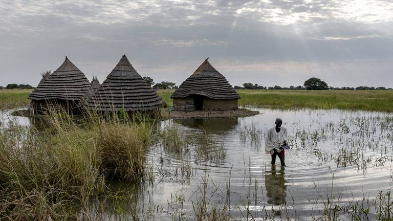 An image that illustrates this article South Sudan floods 'worst in 60 years'