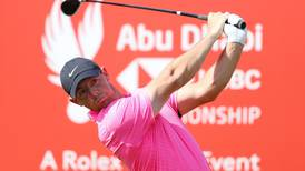 Rory McIlroy shoots superlative 64 in first round of Abu Dhabi HSBC Championship