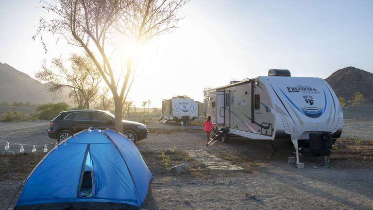 An image that illustrates this article First luxury caravan park in region to open in Hatta next month