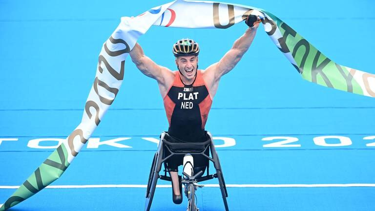 An image that illustrates this article Para Championships added to World Triathlon Series in Abu Dhabi