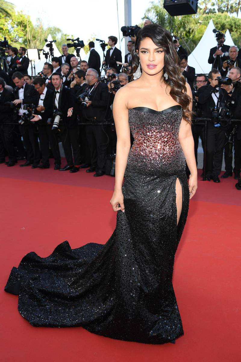 """CANNES, FRANCE - MAY 16: Priyanka Chopra attends the screening of """"Rocketman"""" during the 72nd annual Cannes Film Festival on May 16, 2019 in Cannes, France. (Photo by Pascal Le Segretain/Getty Images)"""