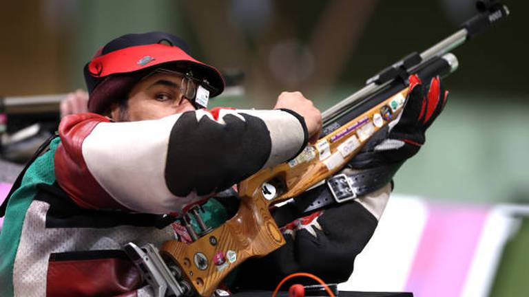 An image that illustrates this article Al Aryani wins shooting gold for UAE at Tokyo Paralympics