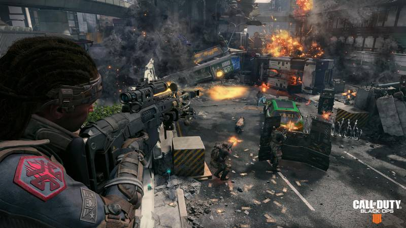 Call of Duty: Black Ops 4. Courtesy Activision
