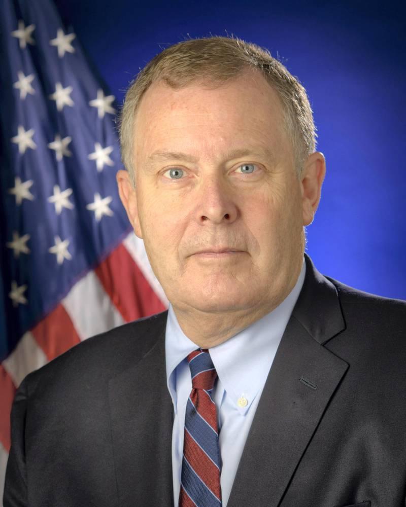 Portrait, Jim Morhard, Deputy Administrator, National Aeronautics and Space Administration (NASA), Wednesday, Oct. 24, 2018 at NASA Headquarters in Washington. Photo Credit: (NASA/Bill Ingalls)