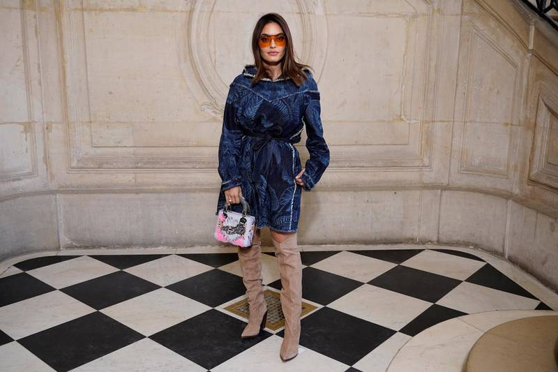 PARIS, FRANCE - JANUARY 20: Karen Wazen attends the Dior Haute Couture Spring/Summer 2020 show as part of Paris Fashion Week on January 20, 2020 in Paris, France. (Photo by Francois Durand/Getty Images for Dior)
