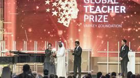 UK schoolteacher wins $1m global education prize in Dubai