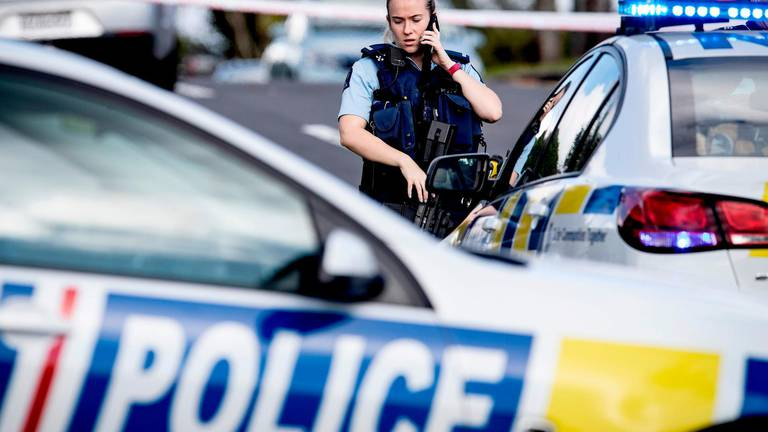 An image that illustrates this article New Zealand policeman shot dead during traffic stop
