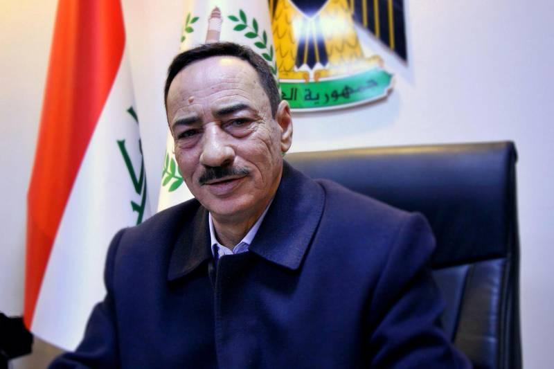 IRAQ-MOSUL_S TWO GOVERNORS-PICTURED-Najm Al Jabouri is Mosul_s new governor