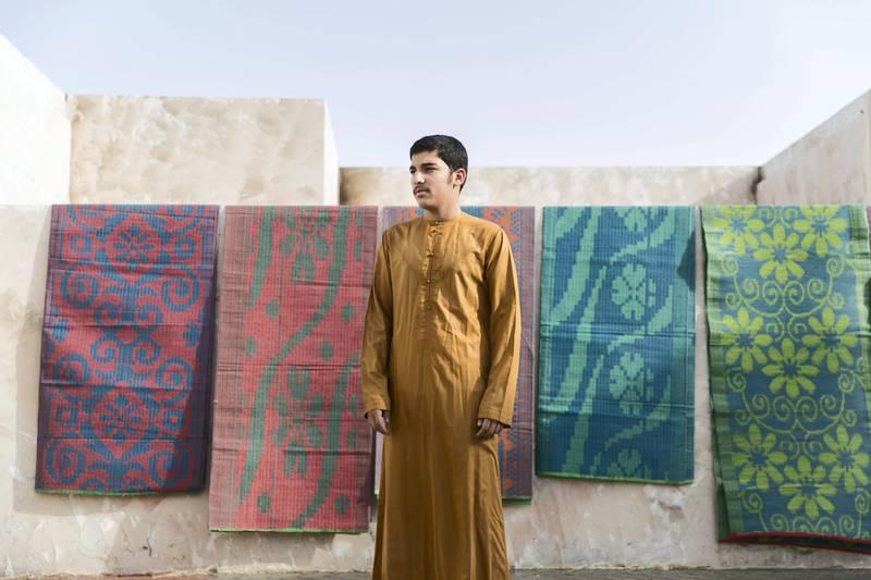DUBAI, UNITED ARAB EMIRATES - MAY 3, 2018. Sayyed Mustafa, 16, the son of the Imam of Al Lisaili mosque.(Photo by Reem Mohammed/The National)Reporter: RUBA HAZASection: NA