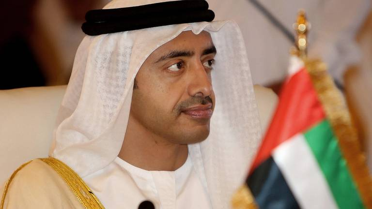 An image that illustrates this article Sheikh Abdullah bin Zayed and China's foreign minister discuss strategic relations