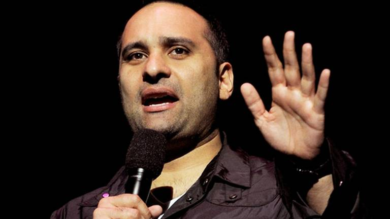 An image that illustrates this article Why comedian Russell Peters isn't joking about Covid