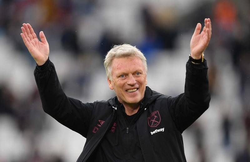 File photo dated 23-05-2021 of West Ham United manager David Moyes. Issue date: Saturday June 12, 2021. PA Photo. West Ham manager David Moyes has signed a new three-year contract, the club have announced. See PA Story SOCCER West Ham. Photo credit should read: Justin Tallis/PA Wire