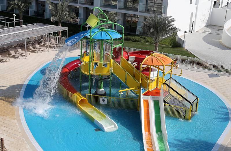DUBAI, UNITED ARAB EMIRATES, December 10 – Splash Water World  at the RIU hotel on Deira Island in Dubai. (Pawan Singh / The National) For News/Lifestyle/Online/Instagram. Story by Kelly