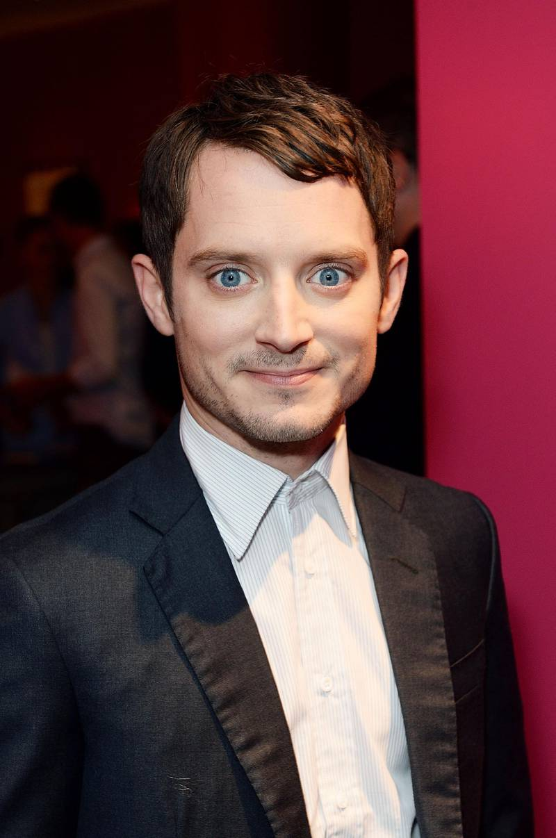 """LONDON, ENGLAND - OCTOBER 28:  Elijah Wood attends the UK Premiere of """"Set Fire To The Stars"""" at Ham Yard Hotel on October 28, 2014 in London, England.  (Photo by Dave J Hogan/Getty Images)"""